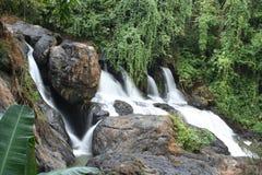 洪mae pha儿子suer泰国瀑布 免版税库存图片