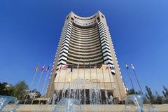 洲际的布加勒斯特旅馆-布加勒斯特,罗马尼亚 免版税图库摄影