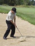 活动令人敬畏的沙子 免版税库存照片