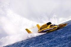 活动水上飞机 库存照片
