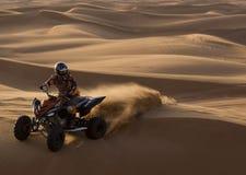 活动沙漠别动队员 免版税库存图片