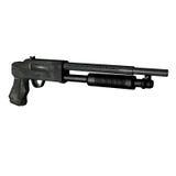 活动泵猎枪 免版税库存图片