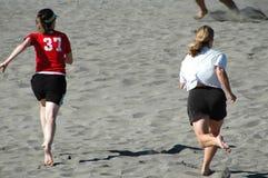活动海滩 免版税库存图片