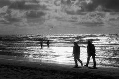 活动海滩 库存照片