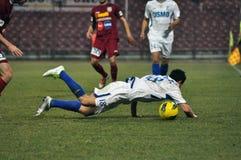活动球员足球 库存照片