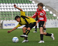 活动足球 库存图片