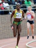 活动运动员牙买加kenia sinclair跟踪 图库摄影