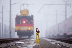 活动铁路 图库摄影