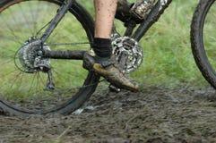 活动骑自行车的人 免版税库存图片