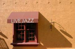 活的爵士乐 库存图片