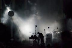 活的音乐会 免版税图库摄影