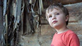 活跃室外休闲 马设备背景 学龄前儿童深刻的扫视  供选择的教育 免版税库存照片
