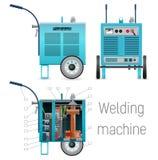 流动焊接电源 免版税库存图片