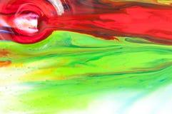 流动的油漆 库存图片