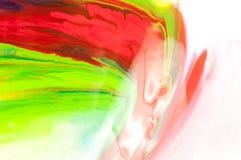 流动的油漆 免版税库存照片