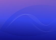 流动的蓝色抽象背景 免版税图库摄影