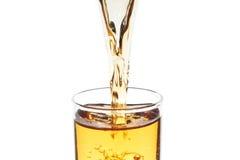 流动的饮料 免版税库存照片