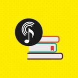 流动音频设计 向量例证