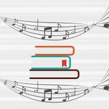 流动音频设计 库存例证