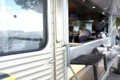 流动食物卡车 库存图片