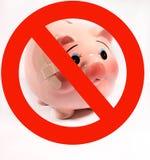 流感没有猪 库存图片