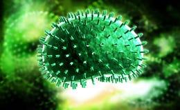 流感病毒 免版税图库摄影