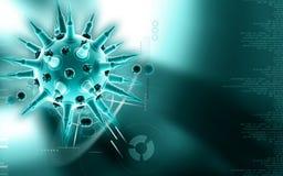 流感病毒 免版税库存图片