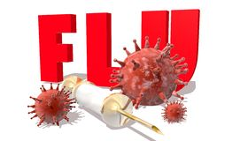 流感 库存图片