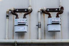 流气体评定的米本质 库存照片