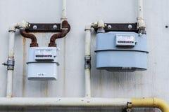 流气体评定的米本质 免版税库存照片