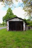 流洒在一个围场在德国 免版税库存图片
