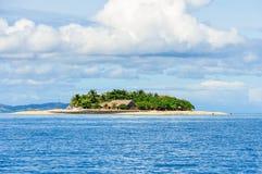 流浪汉海岛在斐济 图库摄影