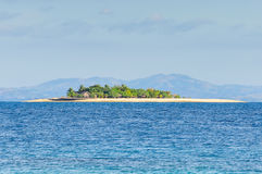 流浪汉海岛在斐济 免版税库存图片