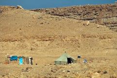 流浪的摩洛哥帐篷 库存图片