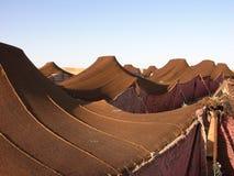 流浪的阵营摩洛哥 免版税库存照片