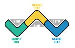 流程模板 库存图片