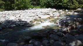 流经林恩小河的水 股票视频