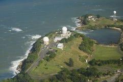 整流罩天线北波多黎各鸟瞰图  库存照片