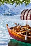 流血的湖斯洛文尼亚 免版税库存图片