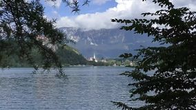 流血的湖slovenie 132851 影视素材