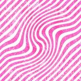 流行粉红波动图式 图库摄影