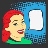 流行艺术样式的女孩 蝴蝶动画片可笑儿童的职员按照s主街上样式 减速火箭的女孩动画片 也corel凹道例证向量 库存照片