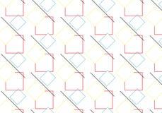 流行艺术菱形样式 库存例证