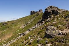 流行音乐的伊冯(Chornohora)观测所,喀尔巴阡山脉 免版税库存照片
