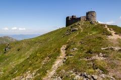 流行音乐的伊冯(Chornohora)观测所,喀尔巴阡山脉 库存照片