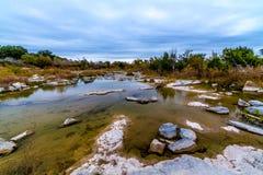 得克萨斯水坑。 免版税库存图片