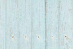 浅兰的木墙壁 库存图片
