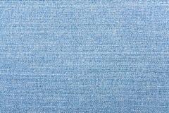 浅兰的牛仔裤纹理 牛仔布背景 免版税库存图片