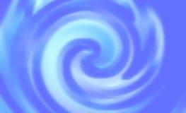 浅兰的被弄脏的波浪镶边背景 美好的设计 免版税库存照片