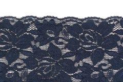 浅兰的鞋带缎织品 免版税库存图片